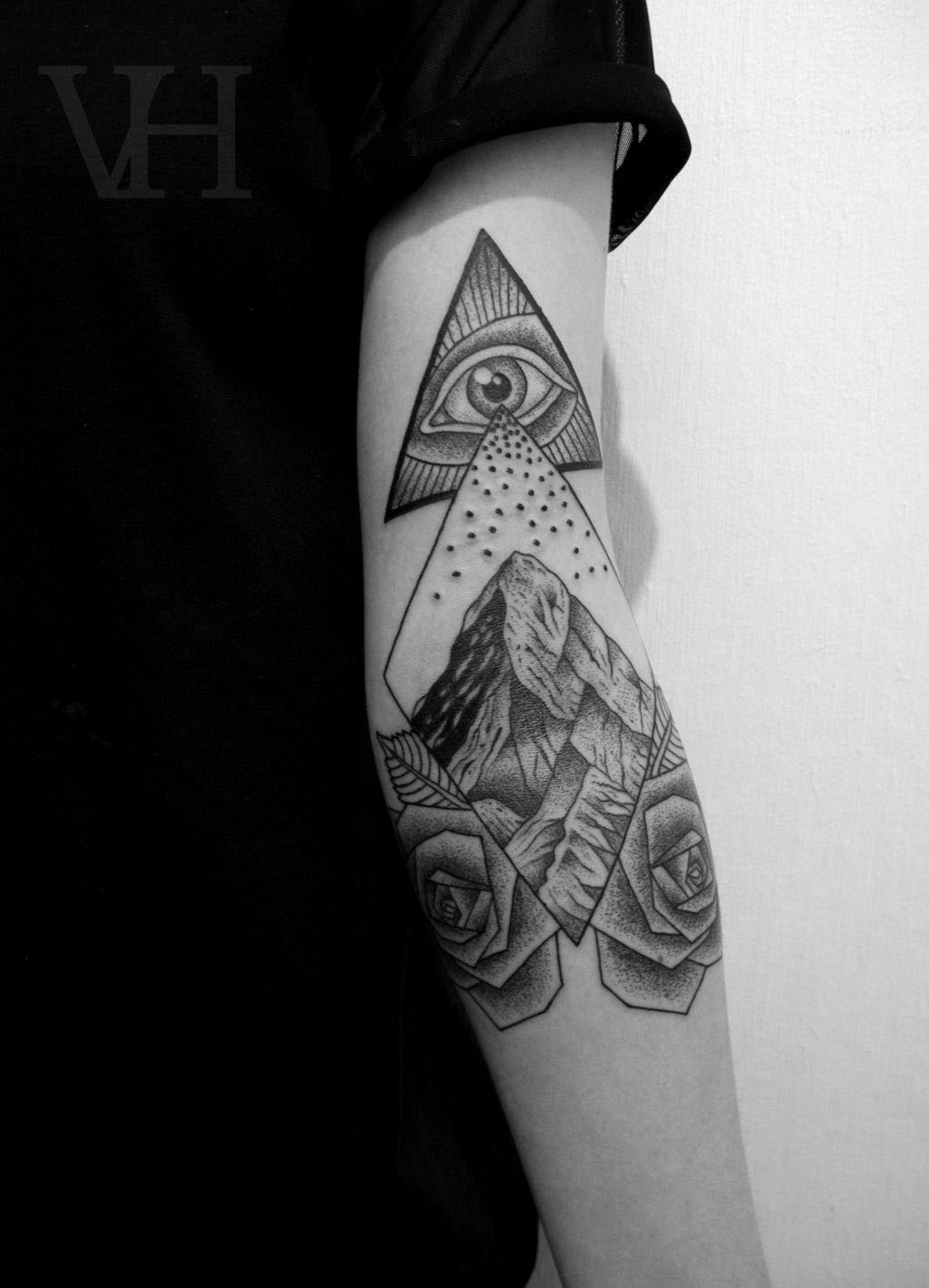 Symbolism All Seeing Eye Inkspiration