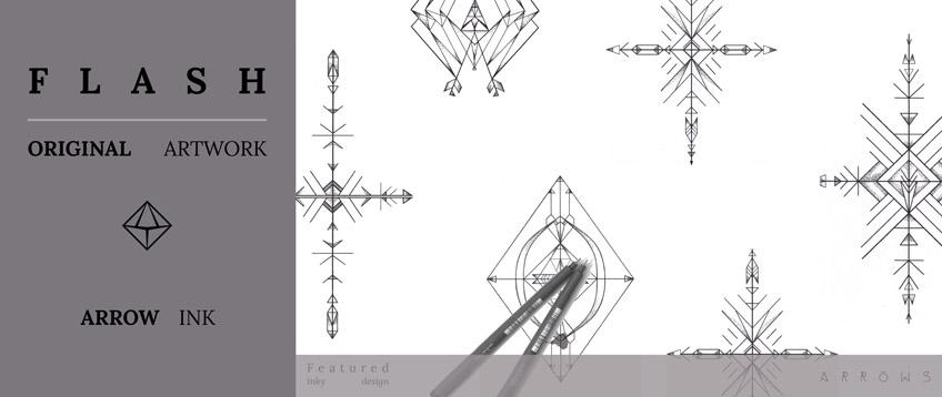Arrow Flash Punctured Artefact Website