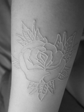Wear Your Ink In Pure White Inkspiration