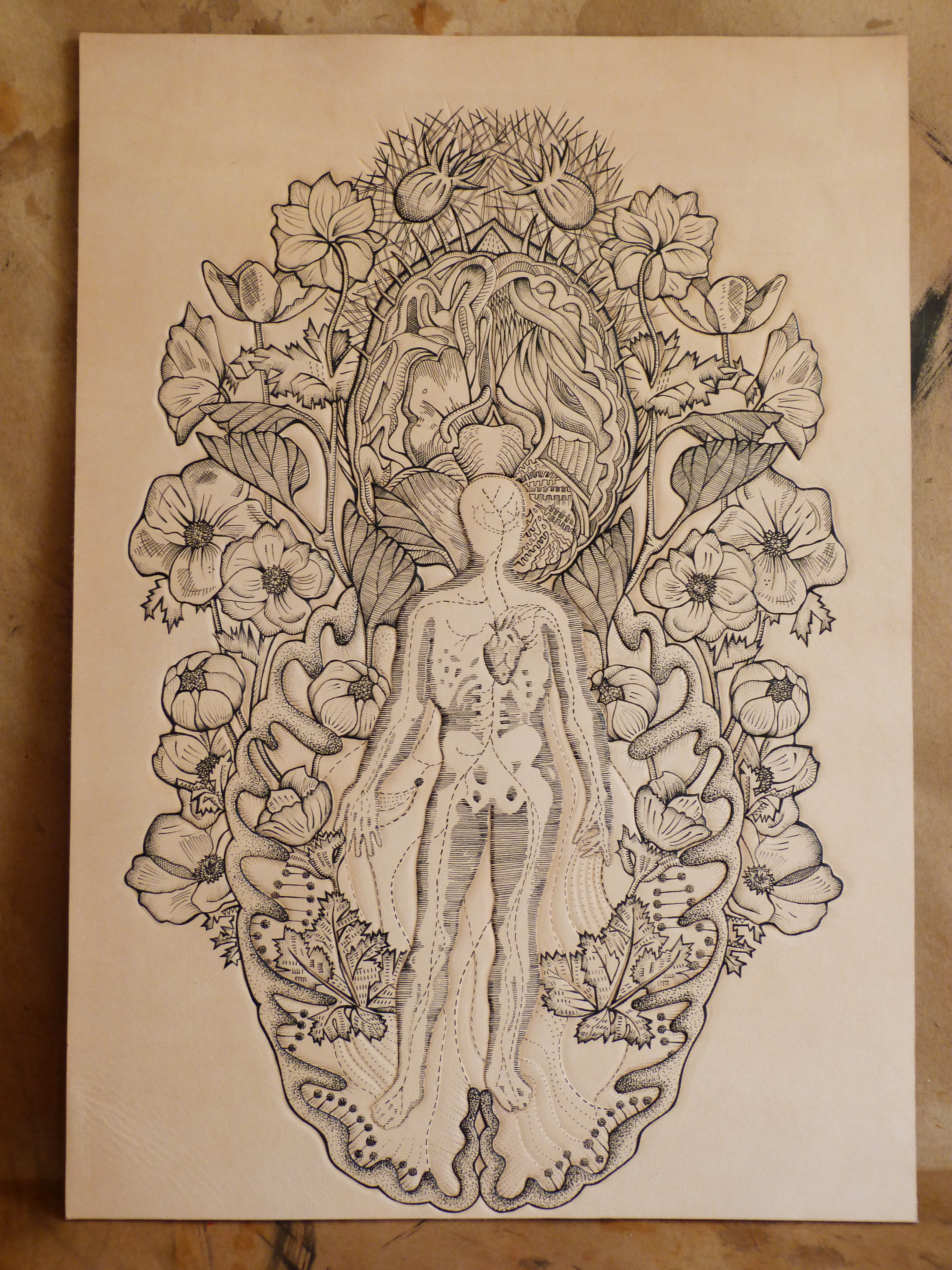 Hang your ink.Connect with nature. #Anatomy inspired #tattooed ...