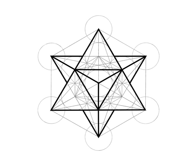 Symbolic Ink Metatrons Cube Inkspiration