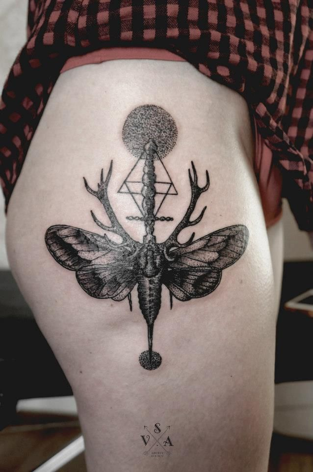 Moth Skull Tattoo Meaning Wear Your Ink Entomology Style