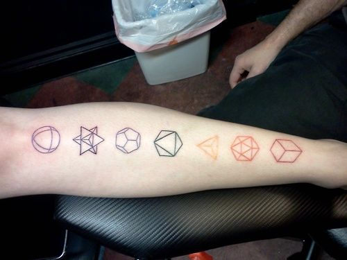 Dodecahedron Tattoo