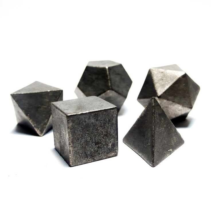 Platonic Solids In Nature SYMBOLISM. The platoni...