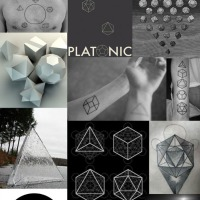 SYMBOLISM. The platonic solids.