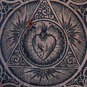 symbolism sacred heart inkspiration. Black Bedroom Furniture Sets. Home Design Ideas