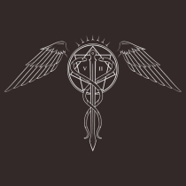 4830_CaduceusTattooWhiteTShirtsHood