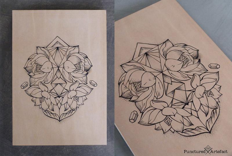 Symbolism Lotus Flower Inkspiration