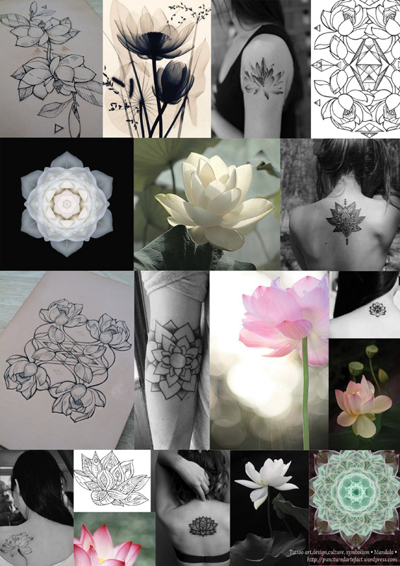 Symbolism Lotus Flower Inkspiration