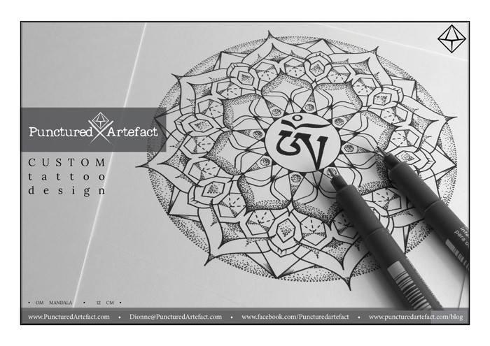 Custom Ink Om Mandala Inkspiration