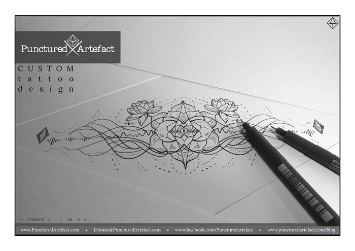 CUSTOM INK  'CYMATICS' | | INKSPIRATION |